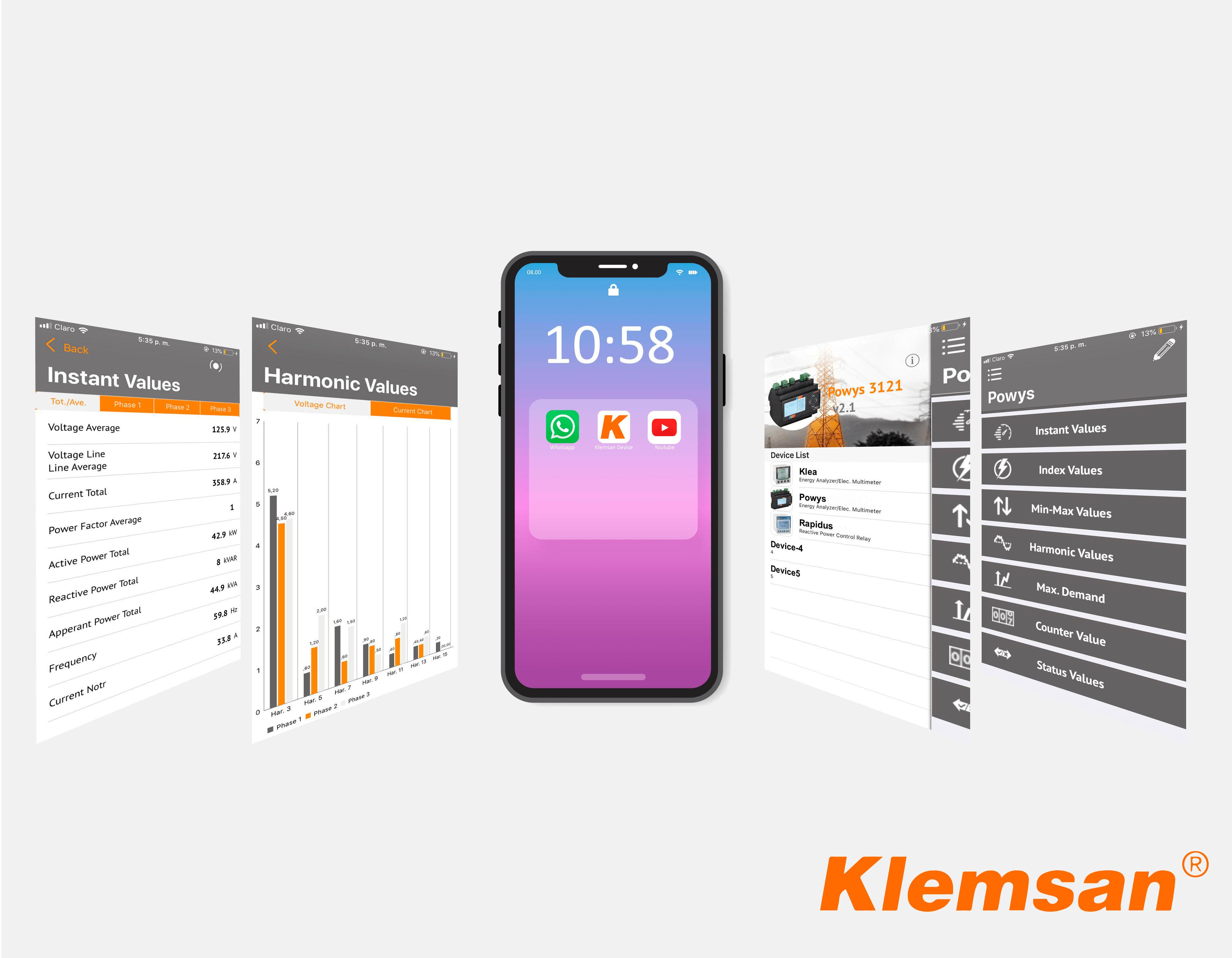 ¡Conoce la nueva App de Gestión Energética de Klemsan para móviles!