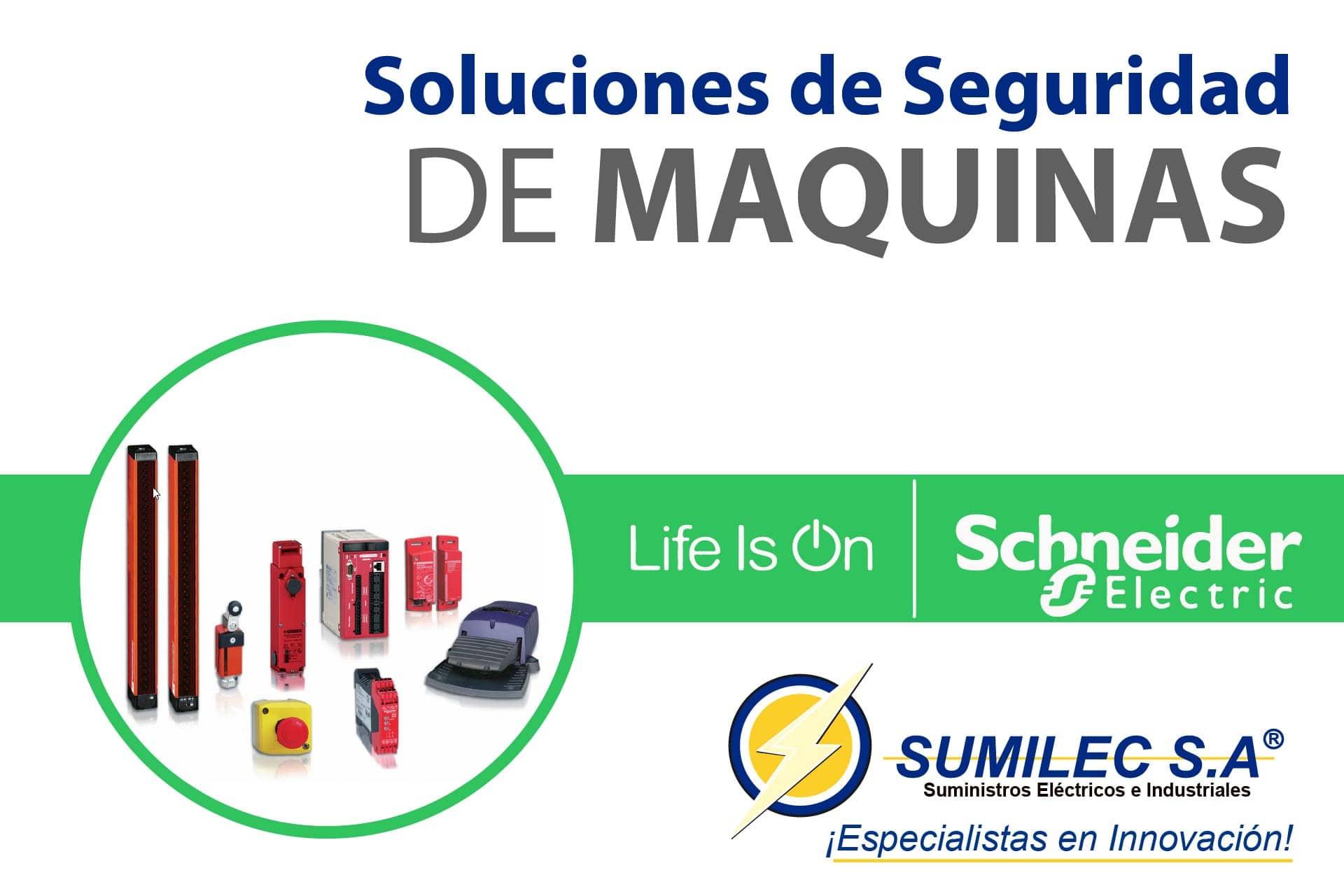 Soluciones de seguridad para maquinas! Schneider