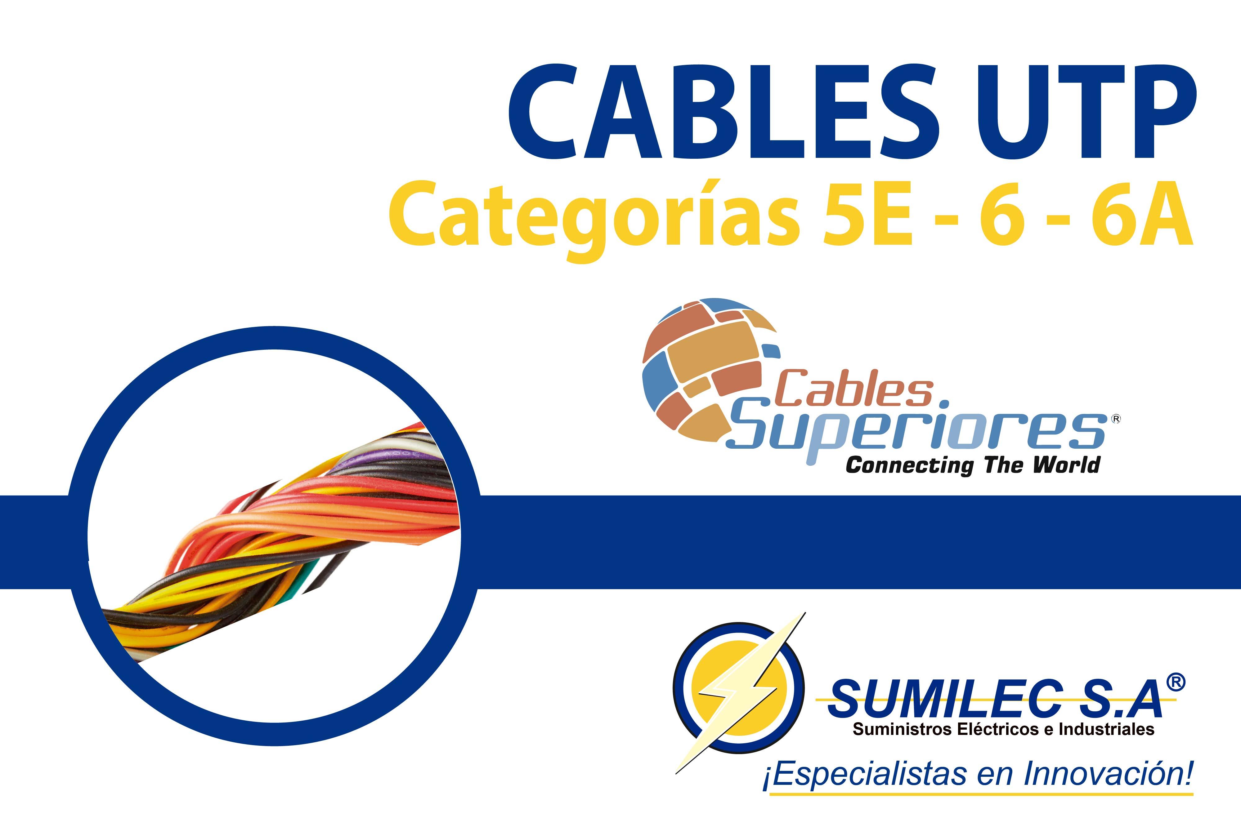 ¿Qué es un Cable UTP? Cables Superior