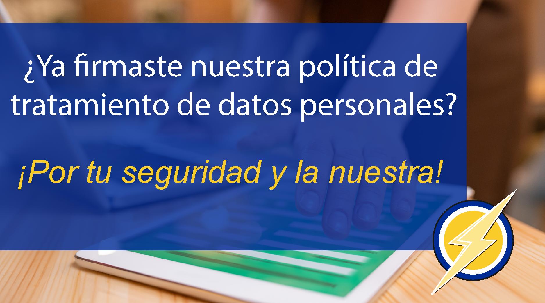 MANUAL DE TRATAMIENTOS DE DATOS PERSONALES – SUMILEC S.A